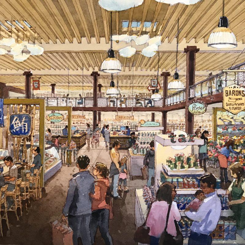 Castro Valley Market Place, Architect_SZFM