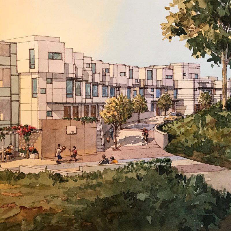 Crestmont project, Architect_ Levy Design