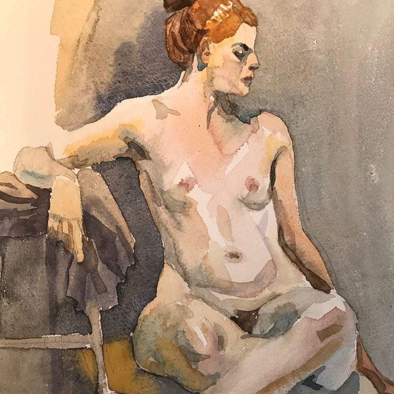 Seated Nude3