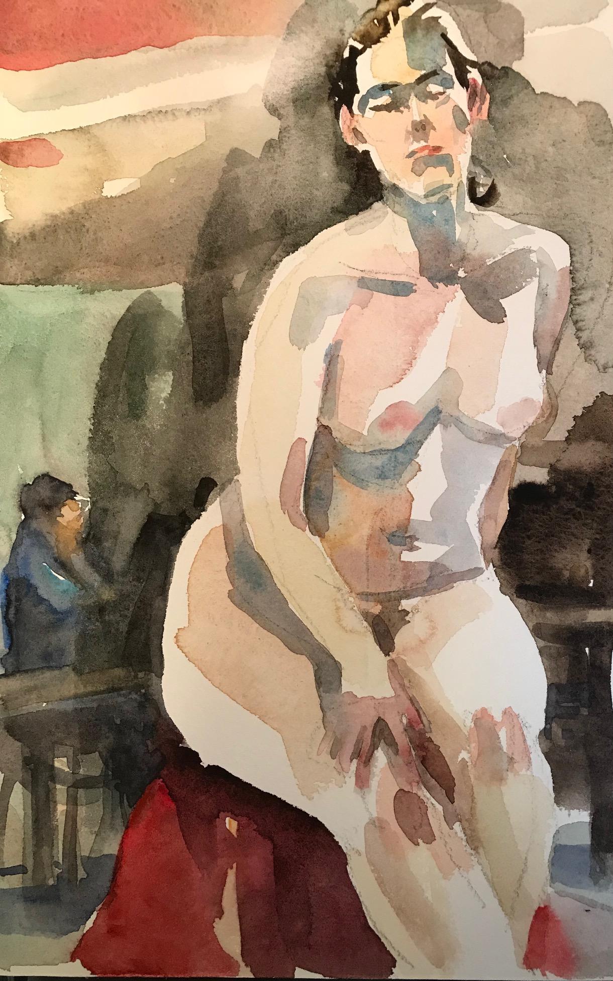 Seated Nude 5